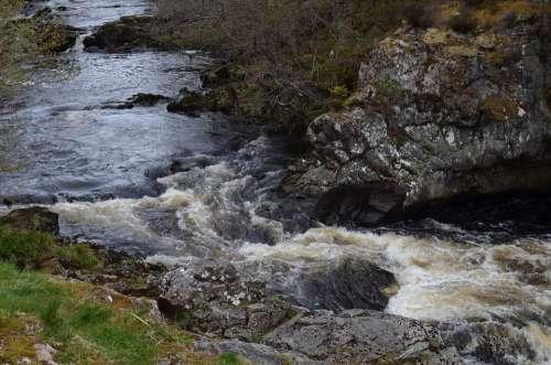 Falls Of Shin Scotland Highlands And Islands