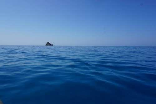 Water Sea Ocean Blue Island Sky