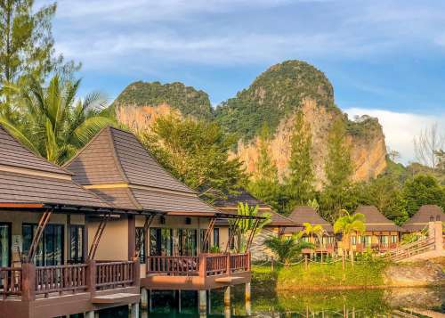 Krabi Thailand Sky Nature Summer The Tropical
