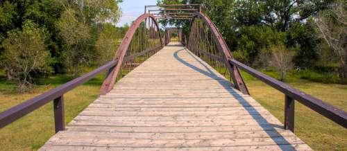 Bridge Water River Architecture Landscape Landmark