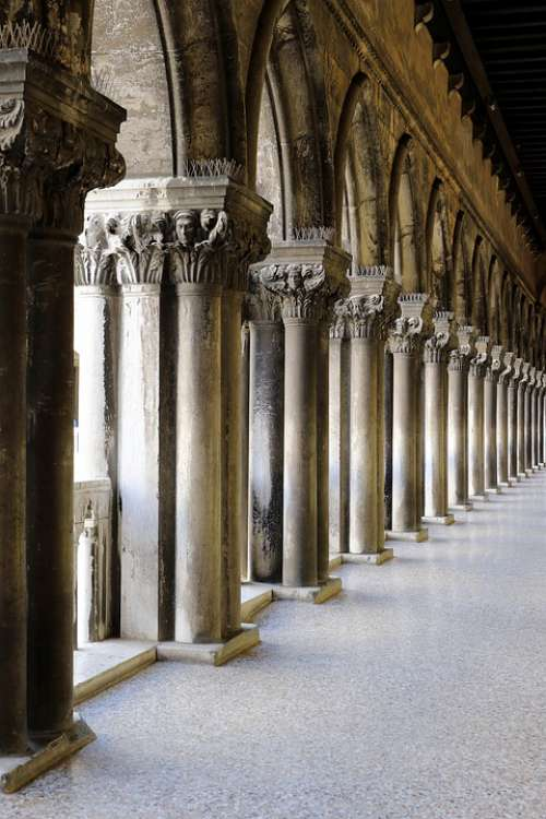 Corridor Columns Particular