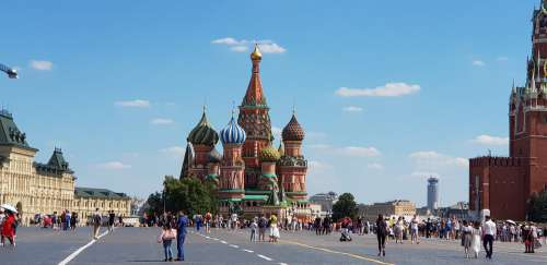 Russia Moscow Red Square Destination Travel