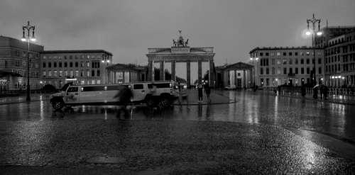 Berlin Brandenburg Gate Limousine Landmark City