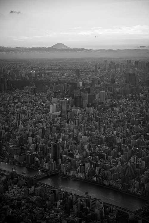 Japan Tokyo Skytree Tower Landmark Urban