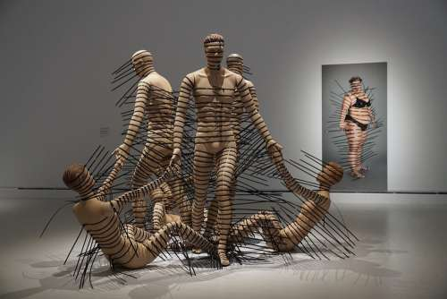 Art Museum Human Laces Body