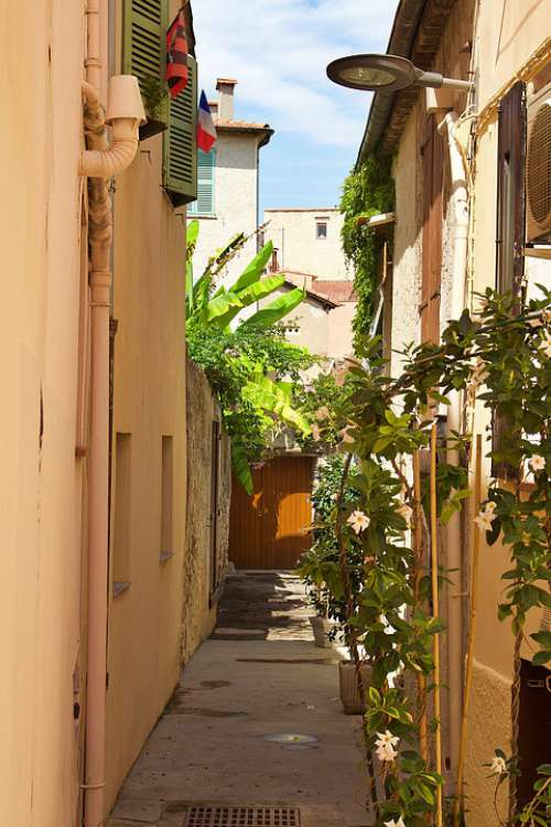 France Antibes Summer Architecture Building