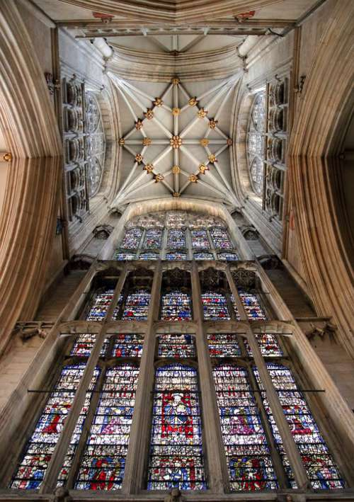 York Minster Cathedral Interior Church England