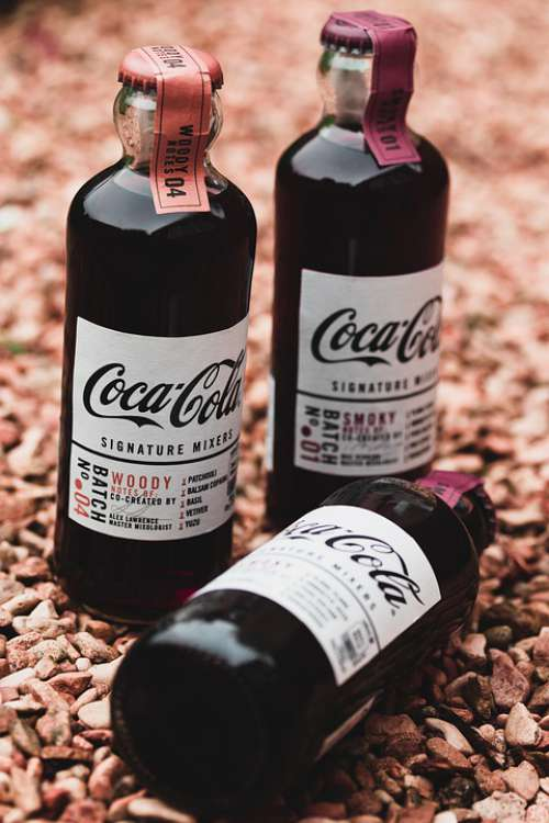 Coca Cola Bottle The Drink Drink Cola Soda