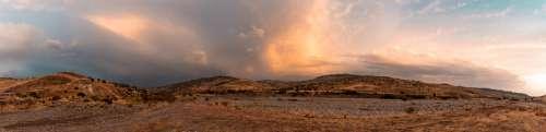 Kelokedara Cyprus Landscape Farm Nature Meadow