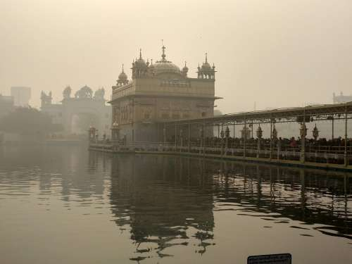 Amritsar Punjab India Golden Temple Beauty