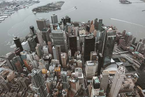 New York Skyline Skyscraper Building City