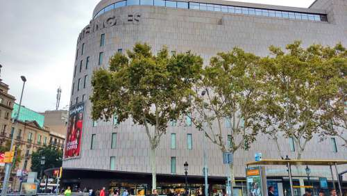 Barcelona Shopping Centre Business Shopping