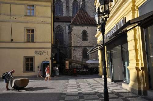 Prague Travel Architecture City Tourism Europe