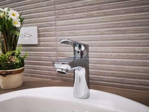 Bathroom Water Tap Faucet Plumbing Water Wash