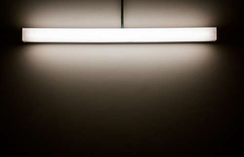 Light Minimalistic Less Effect Shadow White