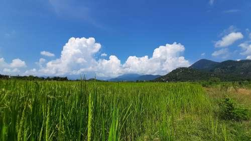 Nature Sky Mountain Clouds