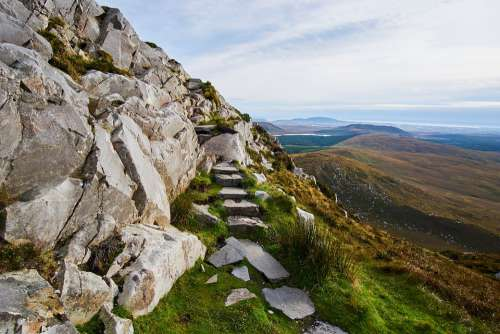 Ireland Connemara Nature Landscape National Park