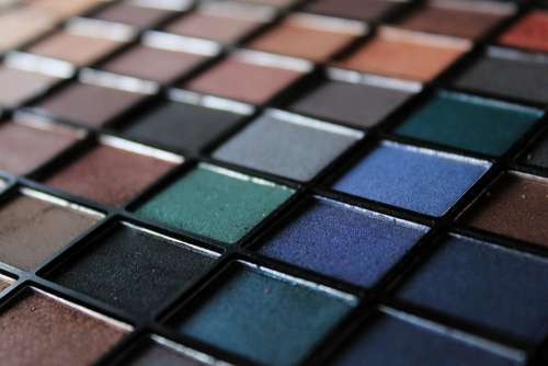 Eye Shadow Cosmetics Color Palette Color Colorful