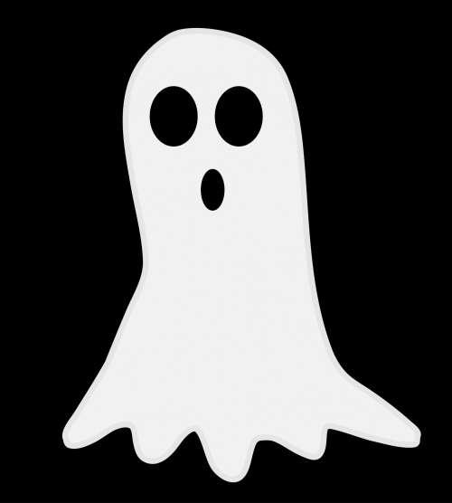 Halloween Ghost Cute Illustration