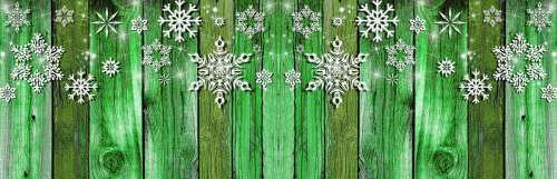 Holiday Fence Banner