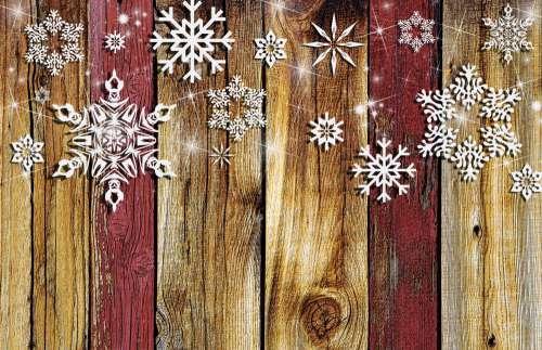 Holiday Fence Background