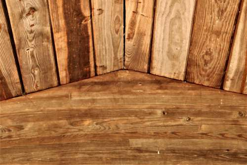 Natural Wood Slats Background 2