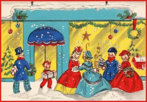 Old Christmas Illustration - 2
