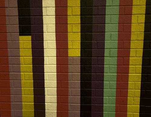 Autumn Stripes Background
