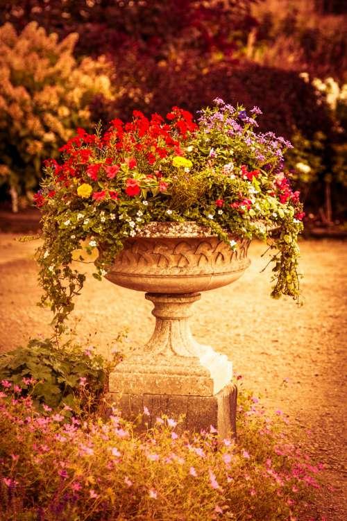 Stone Flowerpot
