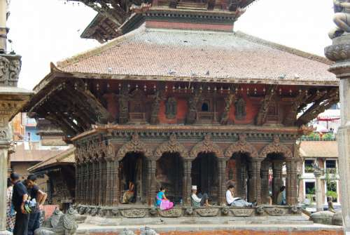 bhaktapur monument nepal holy places building