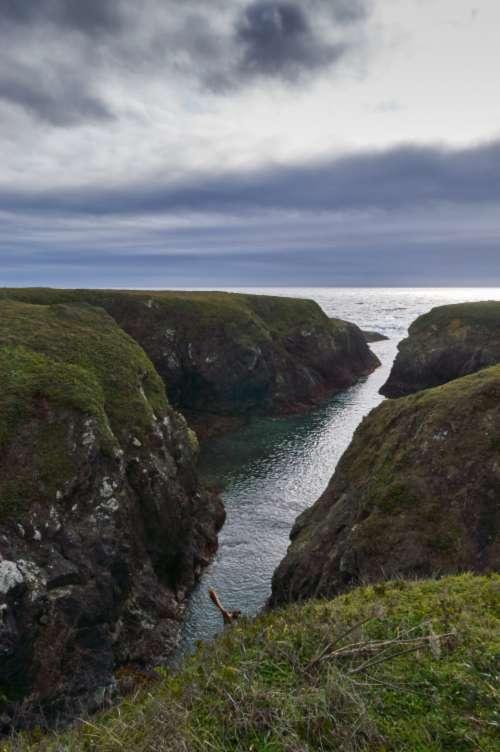 coastal landscape water ocean sea