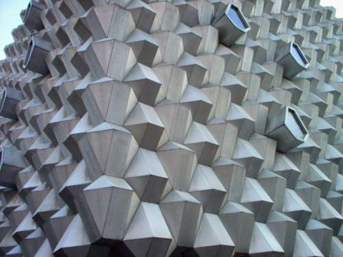 building abstract detail wall exterior