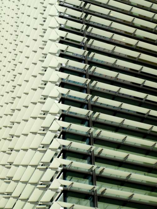 city building pattern abstract structure