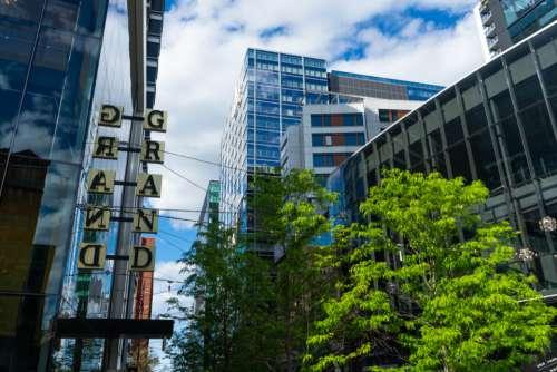 architecture building sky urban city