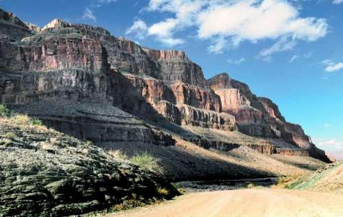 desert canyon cliffs travel nature