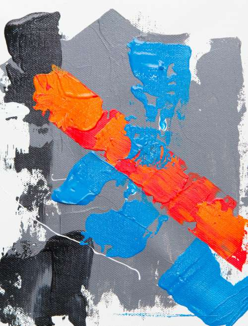 abstract painting art creative design