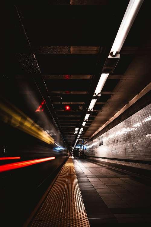 Train Speeds By Platform Photo