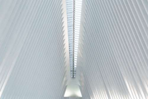 World Trade Centre Station Ceiling Photo