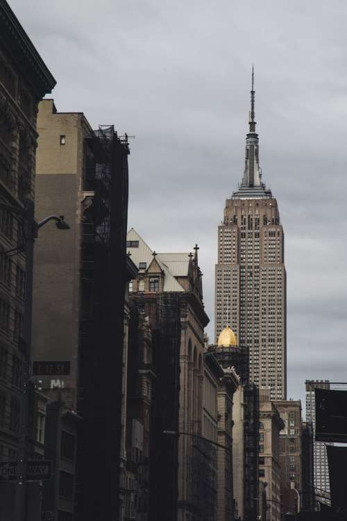 Street View Of Empire State Building Photo