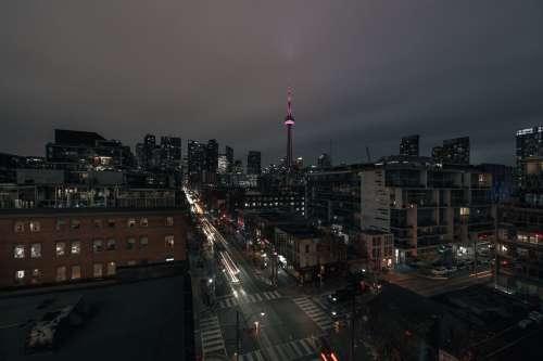 Toronto Nightscape Photo