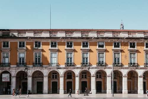 Exterior Walls And Front Of Museu De Lisboa Photo