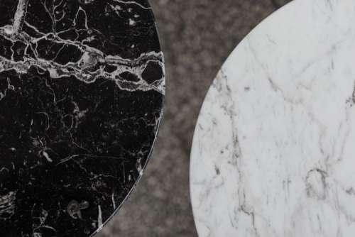 White & Black Marble