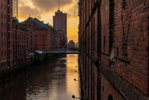 Hamburg Speicherstadt Architecture Channel Waters