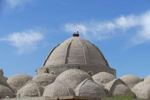 Uzbekistan Bukhara Architecture Dome World Heritage