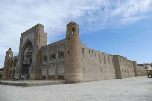 Uzbekistan Bukhara Architecture Medrese Islam