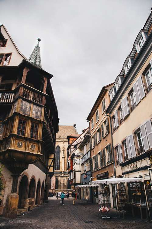 France Alsace Colmar City City Old City Old House