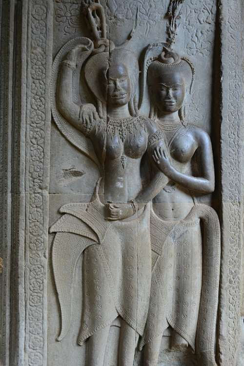 Angkor Wat Temple Cambodia Asia Ancient Buddhism