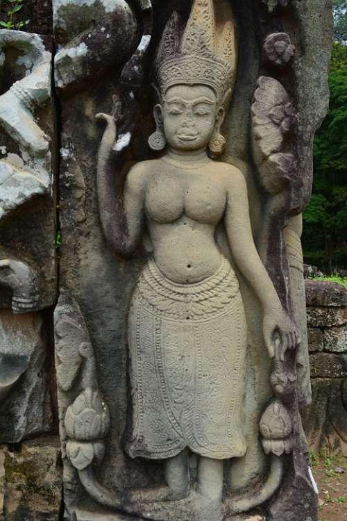 Statue Art Sculpture Figure Artwork Angel