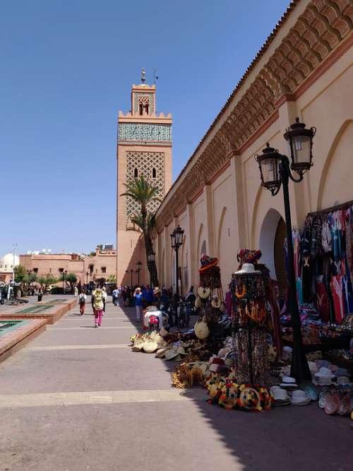 Mosque Moulay El Yazid Marrakech Morocco Moroccan