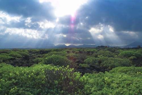 Clouds Landscape Sky The Horizon Storm